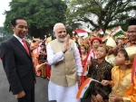 PM Narendra Modi and Indonesian President lead delegation level talks and signing of MoUs