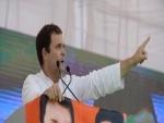 Rafale deal: Congress president Rahul Gandhi meets HAL employees