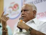 BJP CM candidate BS Yeddyurappa reaches Raj Bhavan, to stake claim to form Karnataka government