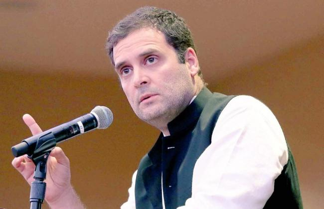 Rahul Gandhi evaluates Modi government's four-year performance, gives report card