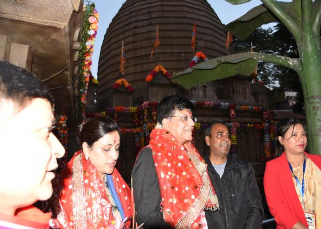 Bogibeel over, all efforts now to be on doubling railway line: Piyush Goyal