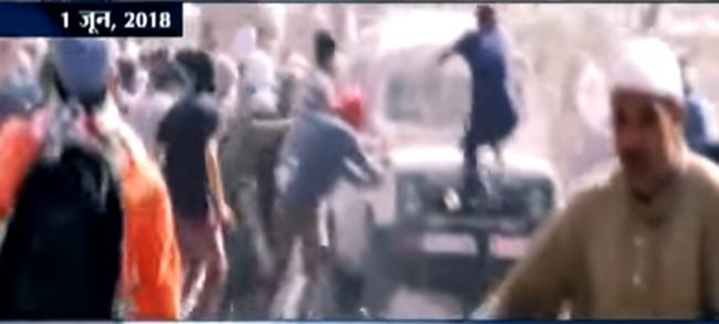Protesters tried to lynch occupants of vehicle: CRPF on Friday incident