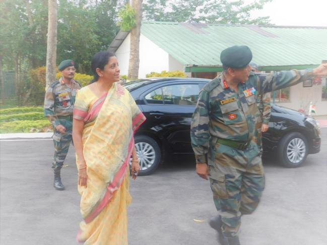 Defence Minister to visit Indo-Myanmar border tomorrow