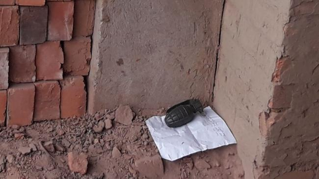Manipur : Two live grenades recovered from two brick fields