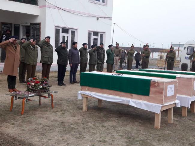 J&K: Militants kill four policemen in Shopian