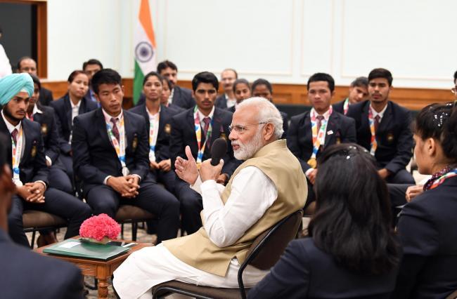 PM Narendra Modi addresses India Carpet Expo at Varanasi, via Video Conference