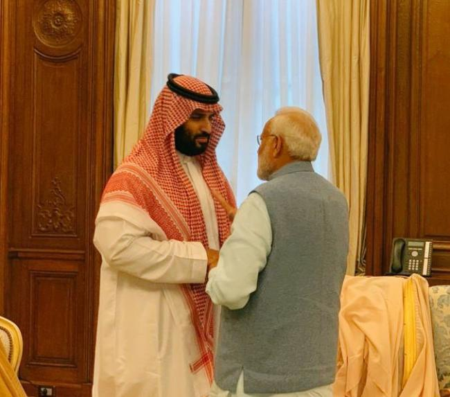 Narendra Modi meets Saudi Arabia Crown Prince Mohammed bin Salman on sidelines of G20 Summit