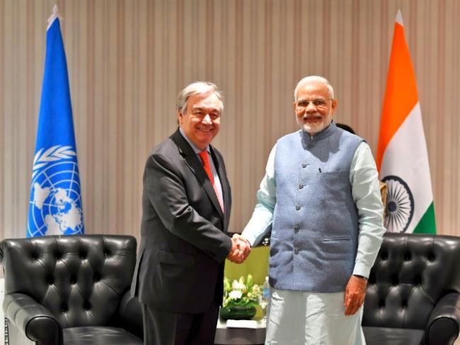 Modi meets Saudi Crown Prince, talks investment