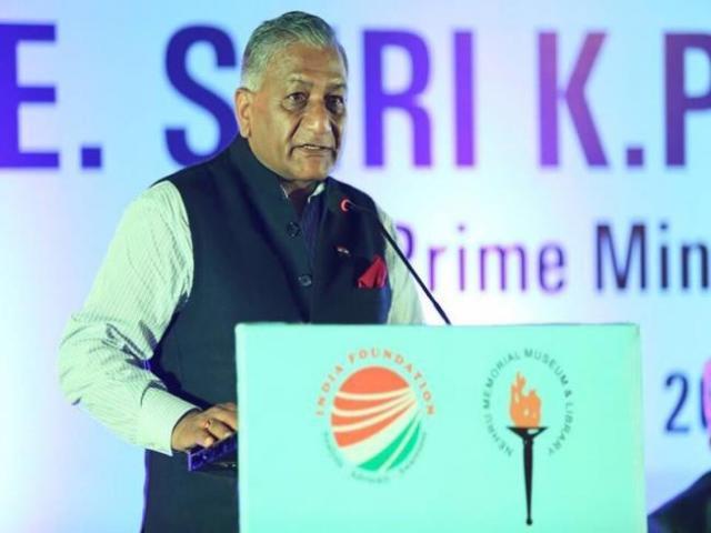 VK Singh at Geneva ministerial meet on Afghanistan