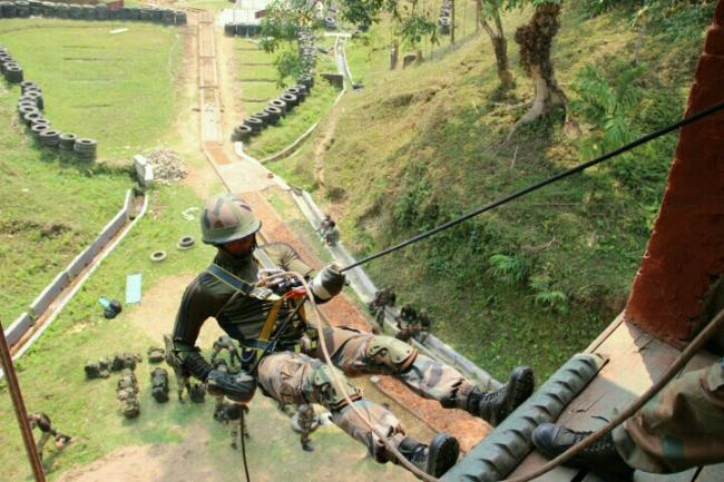 Indo- Kyrgyzstan army joint training exercise held in Mizoram