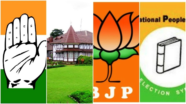 Meghalaya government: BJP-NPP trying to get support from regional parties, Congress stakes claim