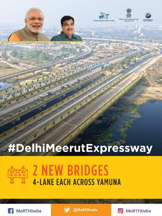 PM Modi inaugurates Delhi-Meerut Expressway