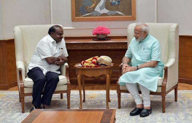 Kumaraswamy thanks PM Modi for fitness challenge nomination