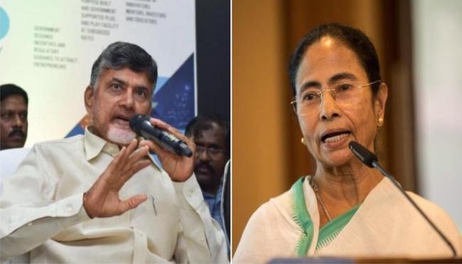 Amid grand alliance hiccups, Chandrababu Naidu meets Mamata to forge