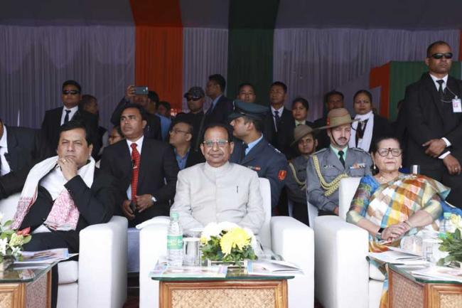 R-Day celebration: Assam CM Sarbananda Sonowal urges people to work with compassion for humanity