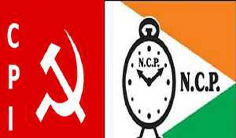 Pansare murder case: CPI-NCP stage sit-in as even after 4 yrs accused still at large