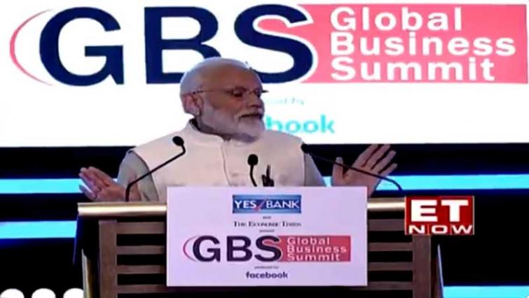 Change is clearly visible in the country, says Narendra Modi at ET Global Business Summit
