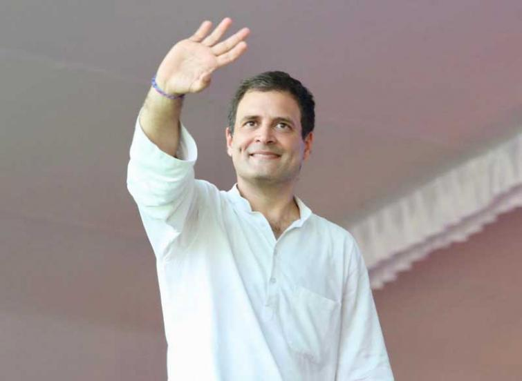 Rahul Gandhi to address public in Maharashtra today