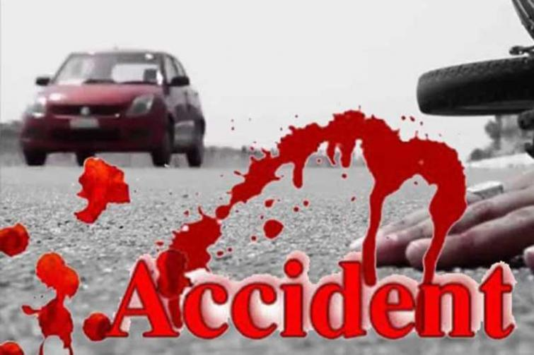 Boy killed, father hurt as water tanker hits motorcycle