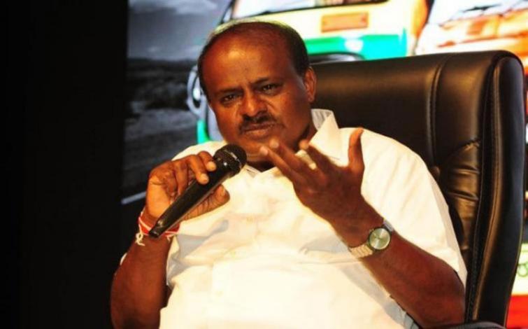 Income tax raids politically motivated, says CM Kumaraswamy