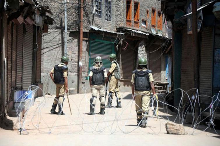 Parts of south Kashmir shut after killing of 3 militants