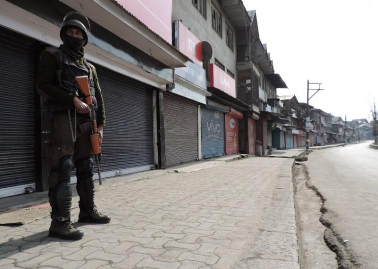 Normal life crippled in central Kashmir due to strike called by separatists