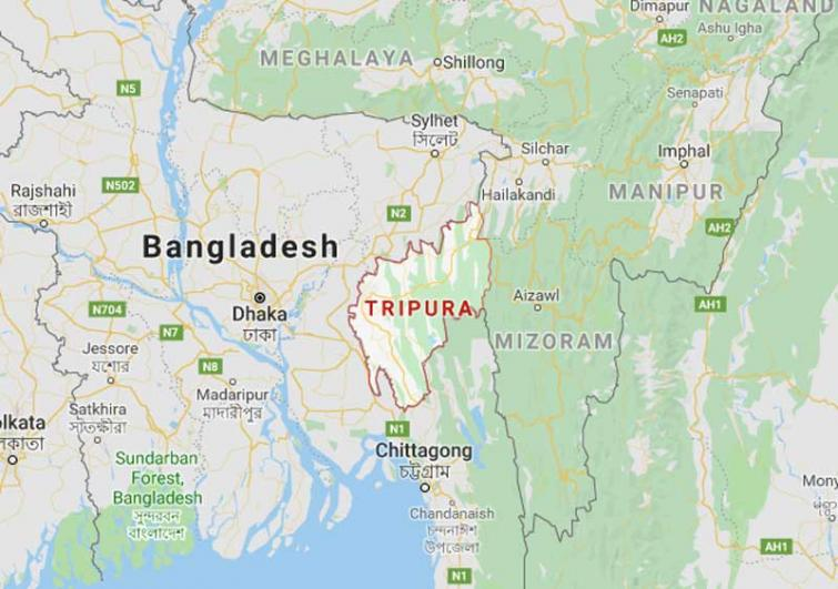Convicted person escape from police remand in Tripura district