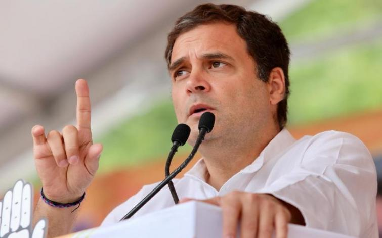 Don't get upset due to false propaganda of fake exit polls: Rahul Gandhi urges Congress workers