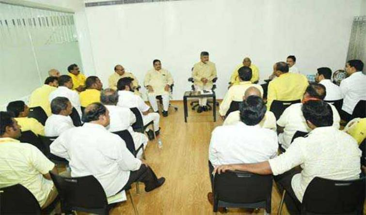 N Chandrababu Naidu elected as TDP Legislature party leader