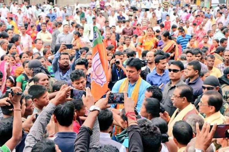 Tripura BJP to hold Lok Sabha poll victory rally on Friday