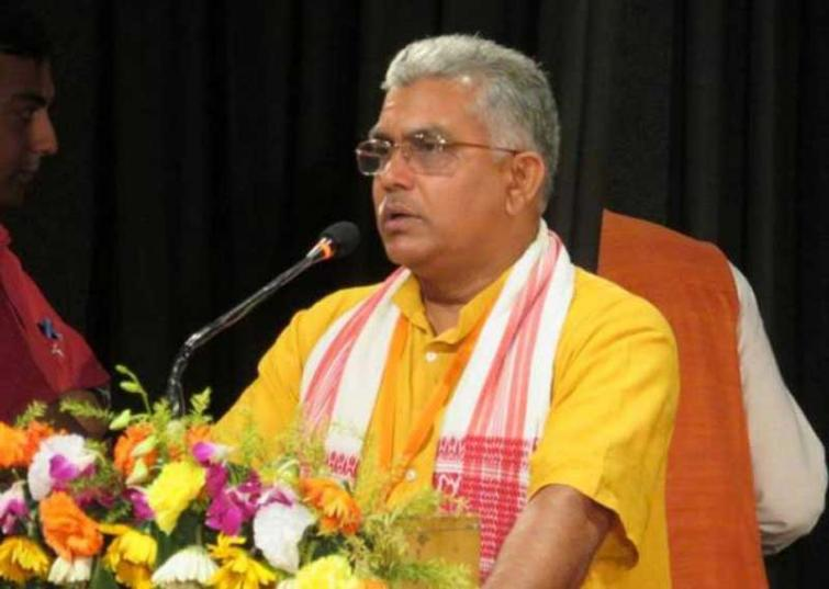 Kolkata: West Bengal BJP chief Dilip Ghosh allegedly attacked in Lake Town