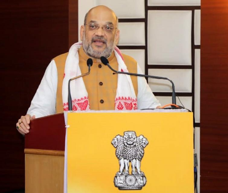 Home Minister Amit Shah chairs high-level review meeting on Kashmir