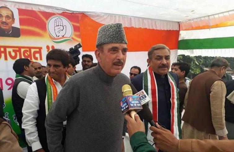 SC allows Congress leader Ghulam Nabi Azad's apolitical visit to Jammu and Kashmir