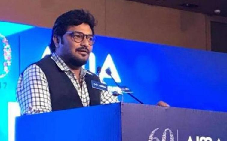 Union Minister Babul Supriyo faces protest in Bulbul-hit South 24 Parganas