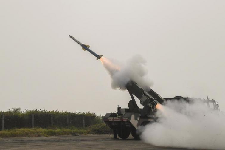 India flight tests Quick Reaction Surface to Air Missile successfully off Odisha coast