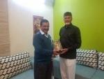 Mahagathbandhan: AP Chief Minister N Chandrababu Naidu meets Arvind Kejriwal