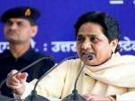 BJP making Congress' mistake by portraying Narendra Modi as India: Mayawati