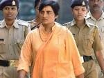 Malegaon blasts accused Sadhvi Pragya Singh Thakur joins BJP, may contest LS polls against Digvijaya Singh