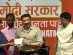 Bollywood actor Sunny Deol joins BJP, thanks party for 'warm welcome'