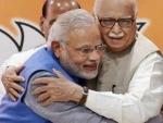 BJP veteran LK Advani greets Narendra Modi for steering BJP towards 'unprecedented victory'