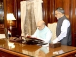 Amit Shah takes charge as Union Home Minister