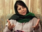 Mehbooba Mufti condemns attack on PDP worker, says taking up gun and attacking innocents no solution'