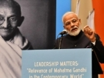Mahatma Gandhi's values serve as moral compass for enlightened leadership: PM Modi