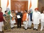 BJP delegation meets President Ram Nath Kovind over violence in West Bengal
