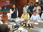 Manohar Lal Khattar meets Haryana Governor, stake claim to form next govt in state