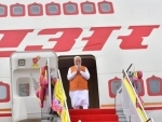 Indian PM Narendra Modi arrives in Thailand for Regional Comprehensive Economic Partnership