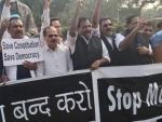 Women MPs manhandled in Lok Sabha, alleges Congress