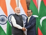 Prime Minister Narendra Modi meets Speaker of People's Majlis of Maldives Mohamed Nasheed