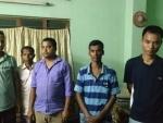Five rhino poachers held in Assam's Biswanath district