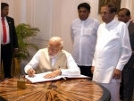 Narendra Modi in Sri Lanka: PM meets top leaders during first visit after LS polls victory